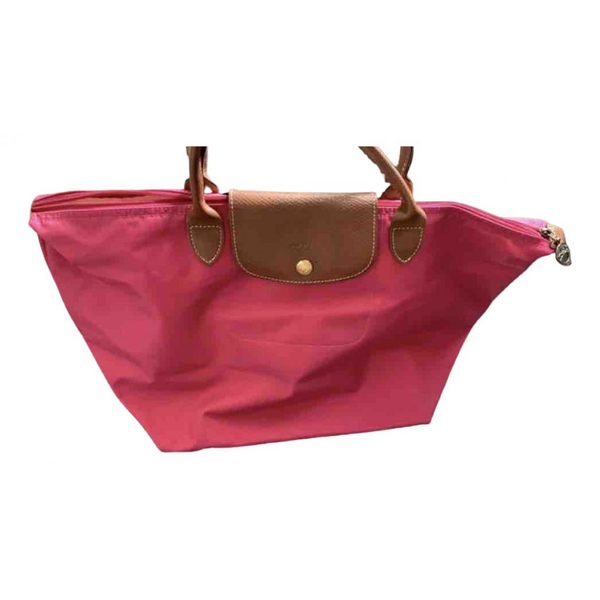 Longchamp N Pink handbag for Women N