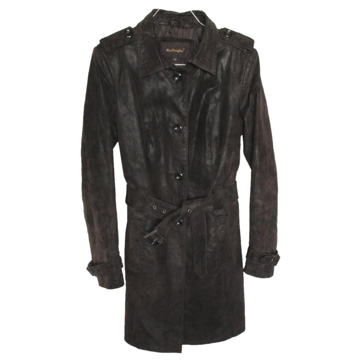 Mac Douglas N Brown Leather coat for Women 36 FR