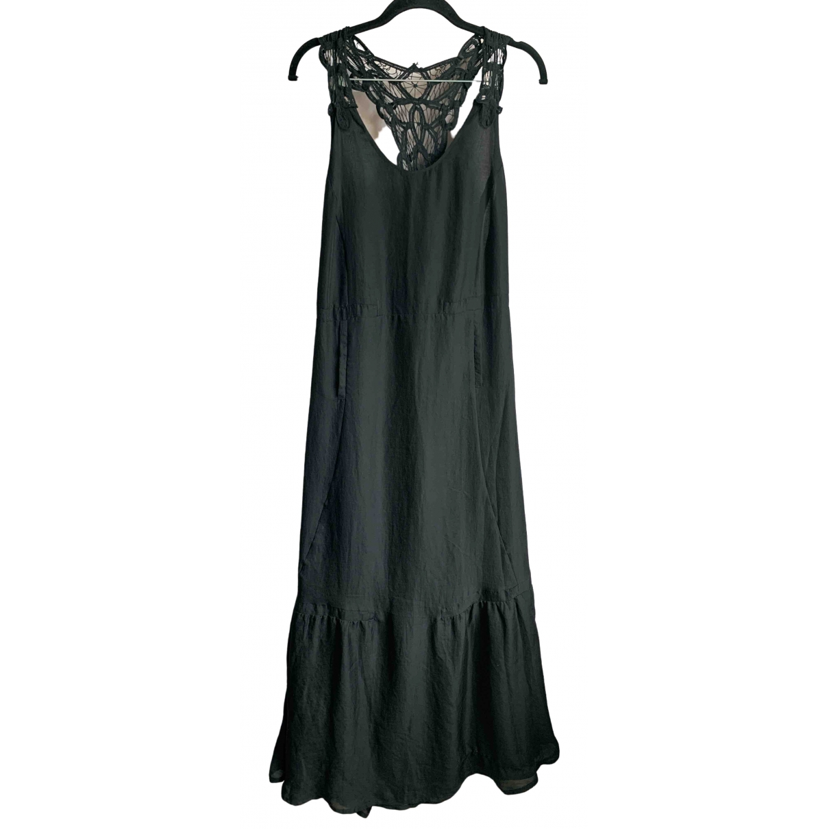 Munthe Plus Simonsen \N Kleid in  Schwarz Polyester