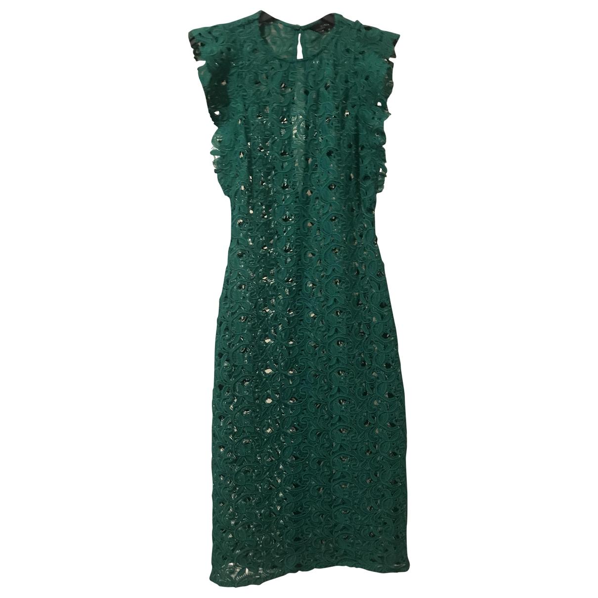 Zara \N Green Cotton dress for Women XS International