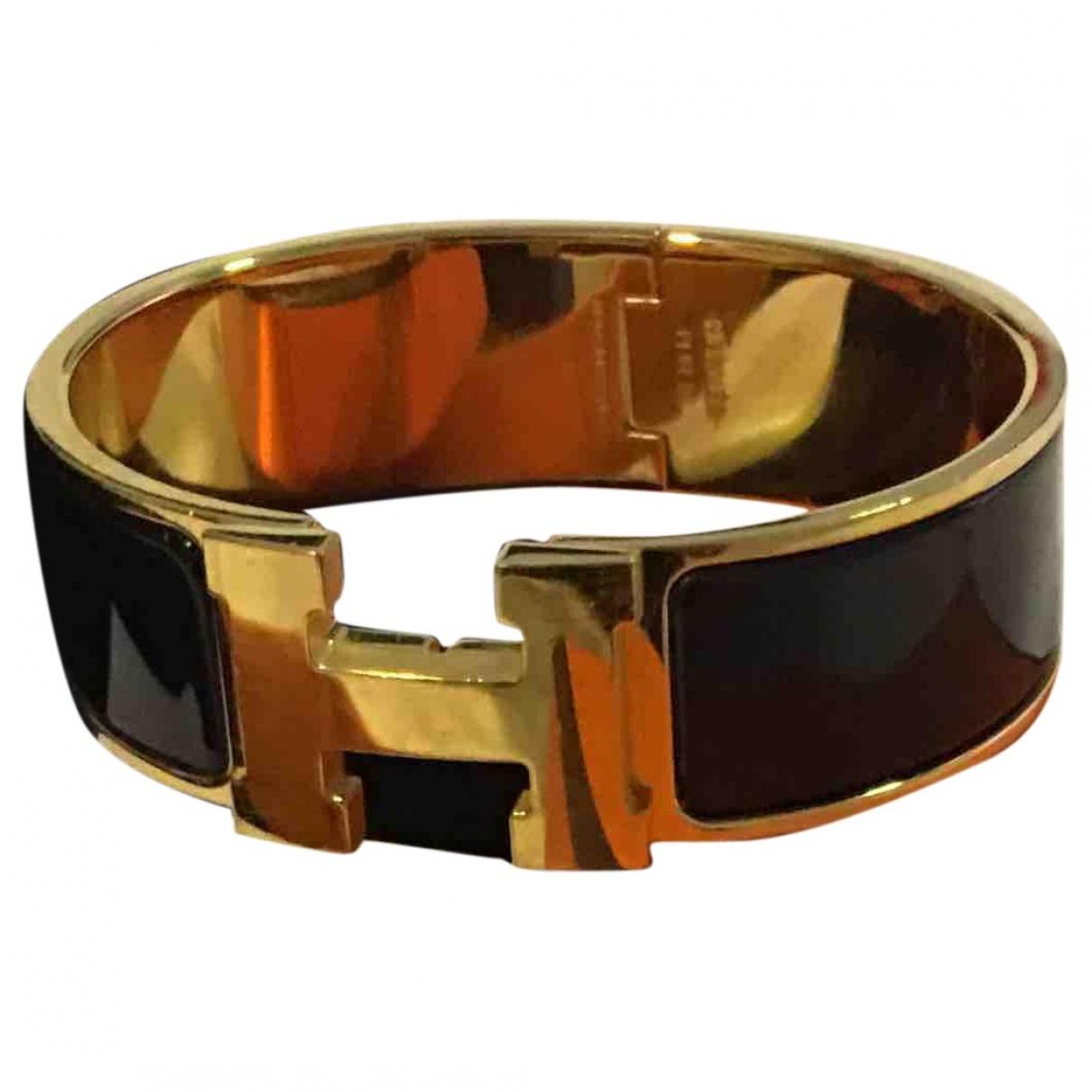 Hermes - Bijoux   pour homme en metal - dore
