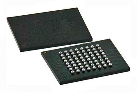 Cypress Semiconductor S29GL032N90FFI010, CFI NOR 32Mbit Flash Memory Chip, 90ns, 64-Pin BGA (180)