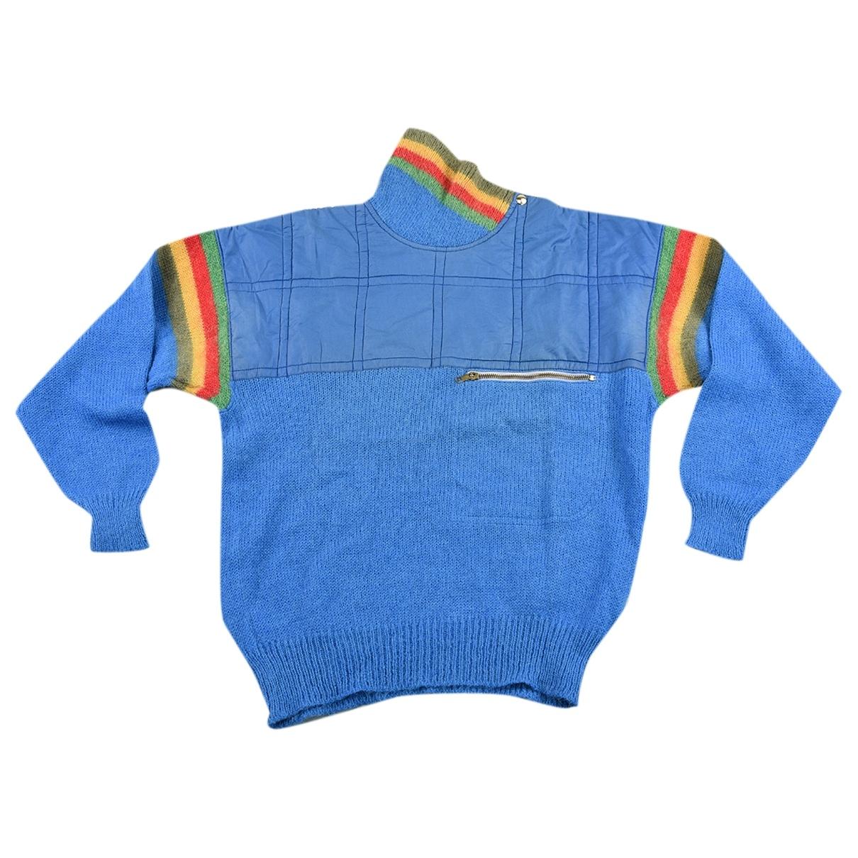 Jc De Castelbajac \N Blue Knitwear & Sweatshirts for Men 44 IT