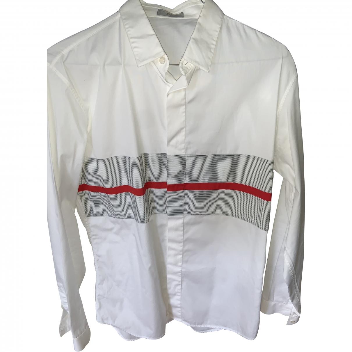 Dior Homme \N Hemden in  Weiss Baumwolle