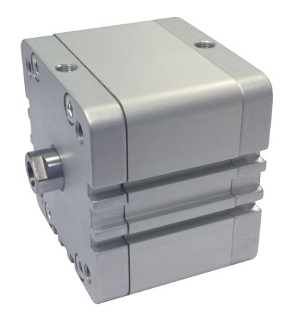RS PRO Pneumatic Compact Cylinder 32mm Bore, 50mm Stroke, Double Acting
