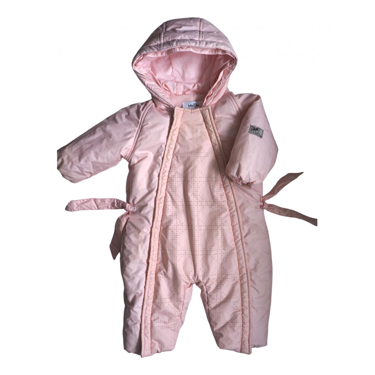 Baby Dior - Blousons.Manteaux   pour enfant - rose