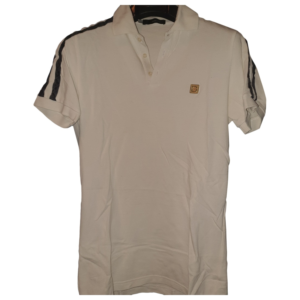Dsquared2 \N White Cotton Polo shirts for Men L International