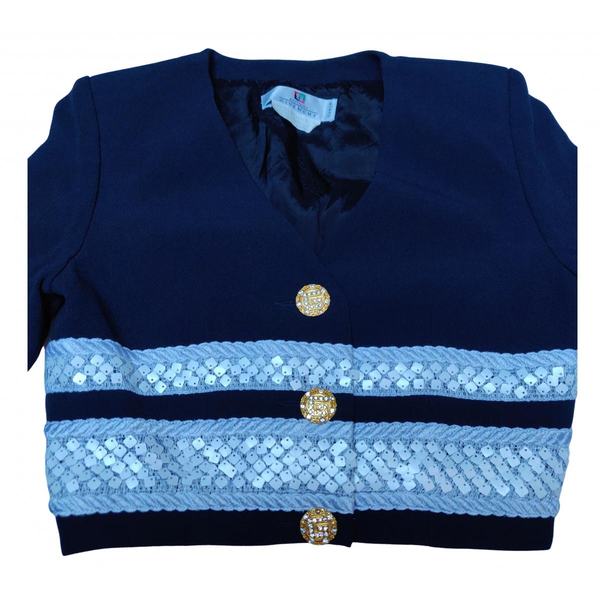 Givenchy - Veste   pour femme - marine