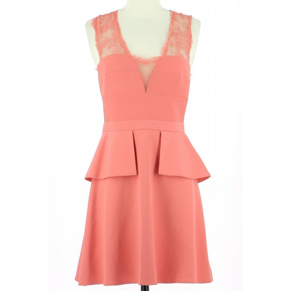 Bcbg Max Azria \N Kleid in  Rosa Polyester