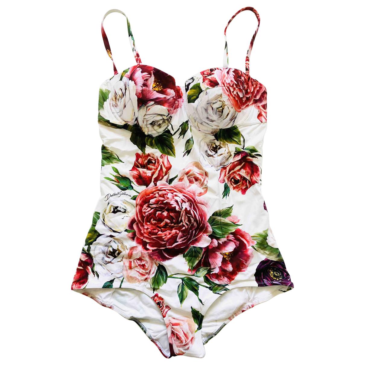 Dolce & Gabbana \N Badeanzug in  Bunt Synthetik