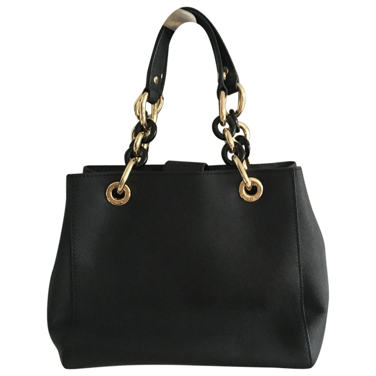 Michael Kors N Black Leather handbag for Women N