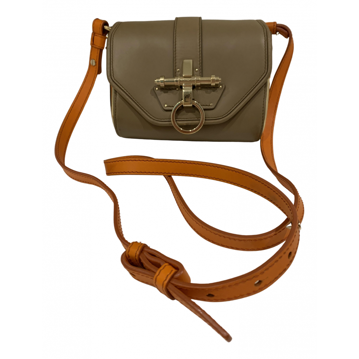 Givenchy Obsedia Camel Leather handbag for Women \N