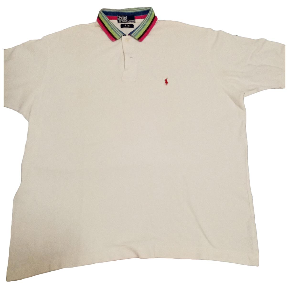 Polo Ralph Lauren - Polos   pour homme en coton - blanc