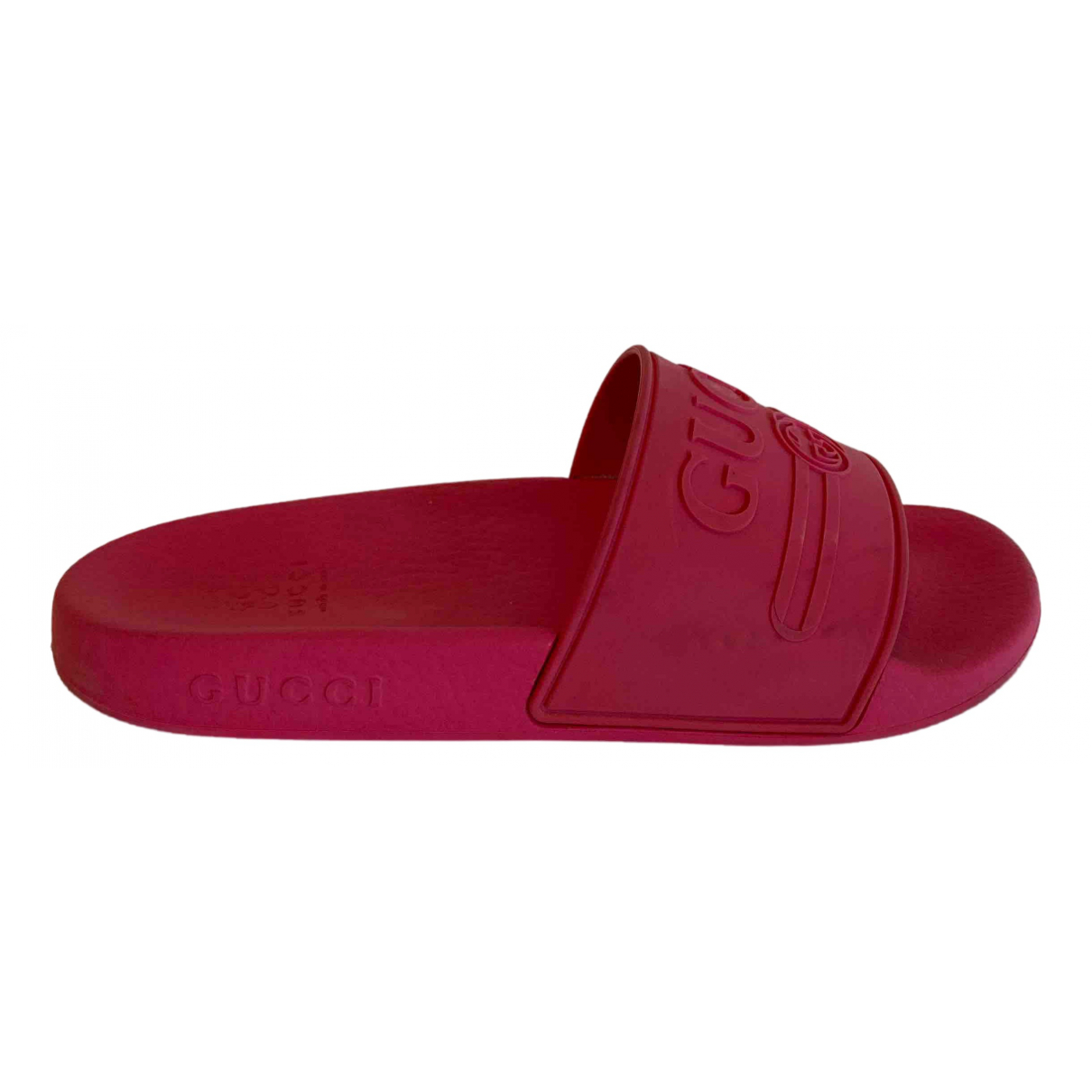 Gucci - Sandales   pour enfant en caoutchouc - rose