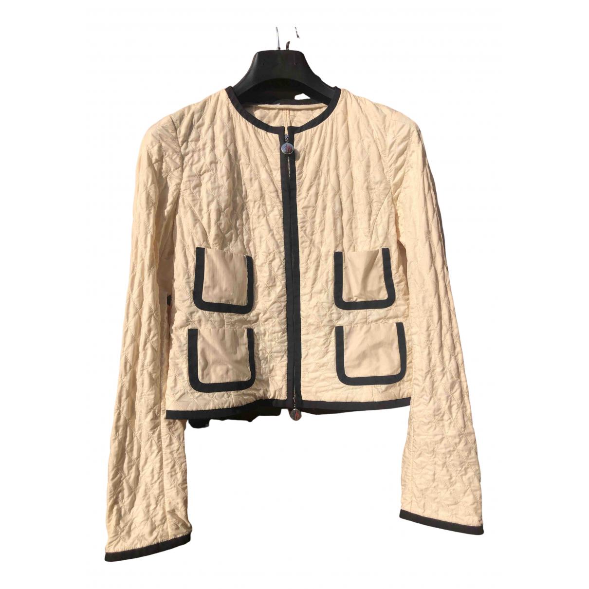 Moncler - Veste Classic pour femme - beige