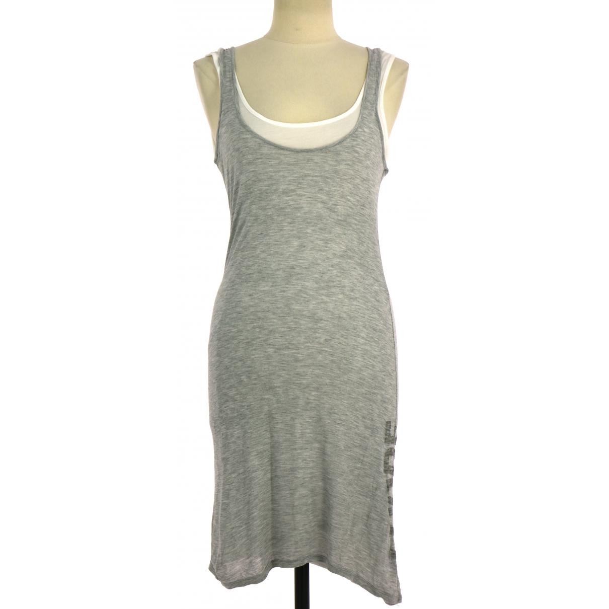Ikks \N Grey Velvet handbag for Women \N