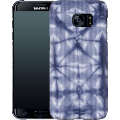 Samsung Galaxy S7 Edge Smartphone Huelle - Tie Dye 2 Navy von Amy Sia