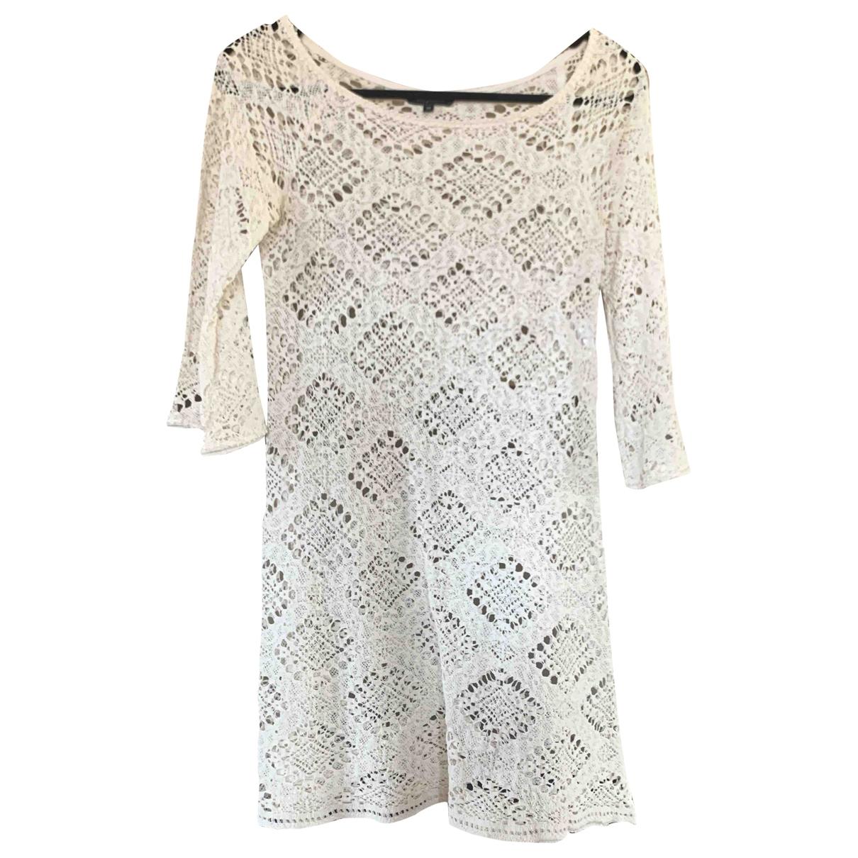 Tara Jarmon - Robe   pour femme en coton - blanc