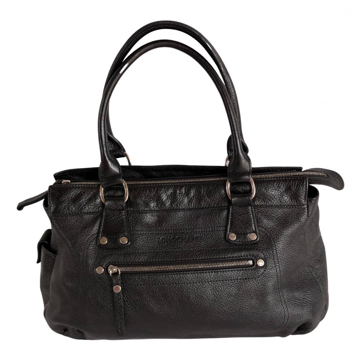 Longchamp - Sac a main Balzane pour femme en cuir - marron