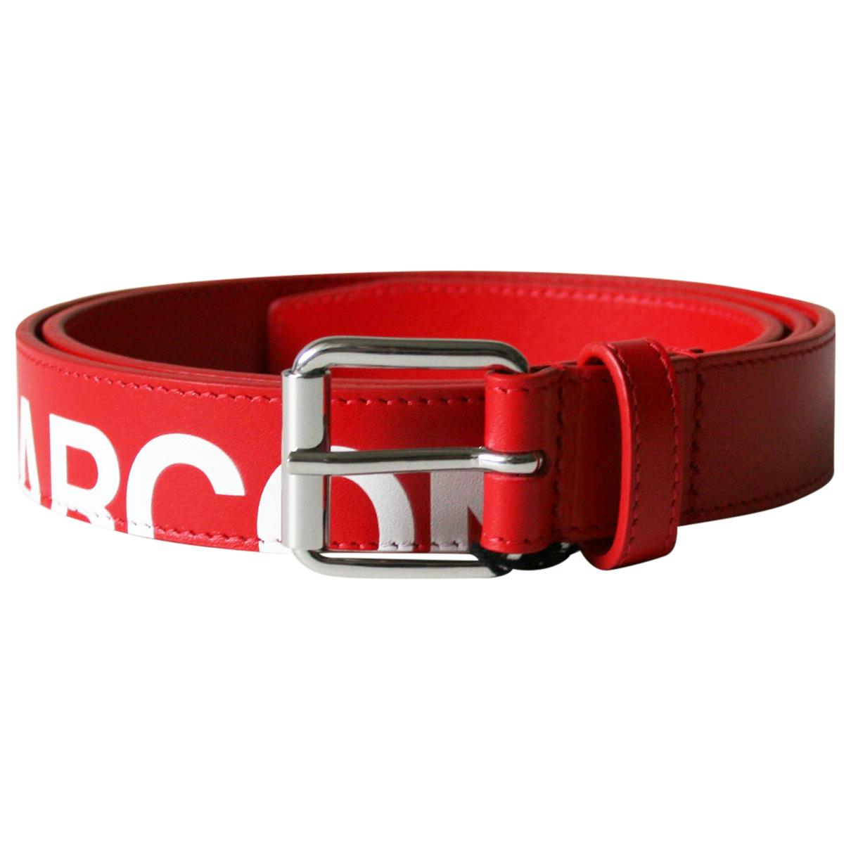 Cinturon de Cuero Comme Des Garcons