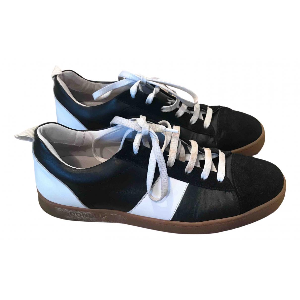 Dondup \N Sneakers in  Schwarz Leder
