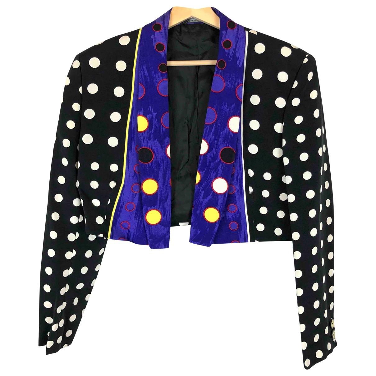 Gianni Versace \N Black jacket for Women 44 IT