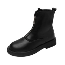 Front Zip Rain Boots