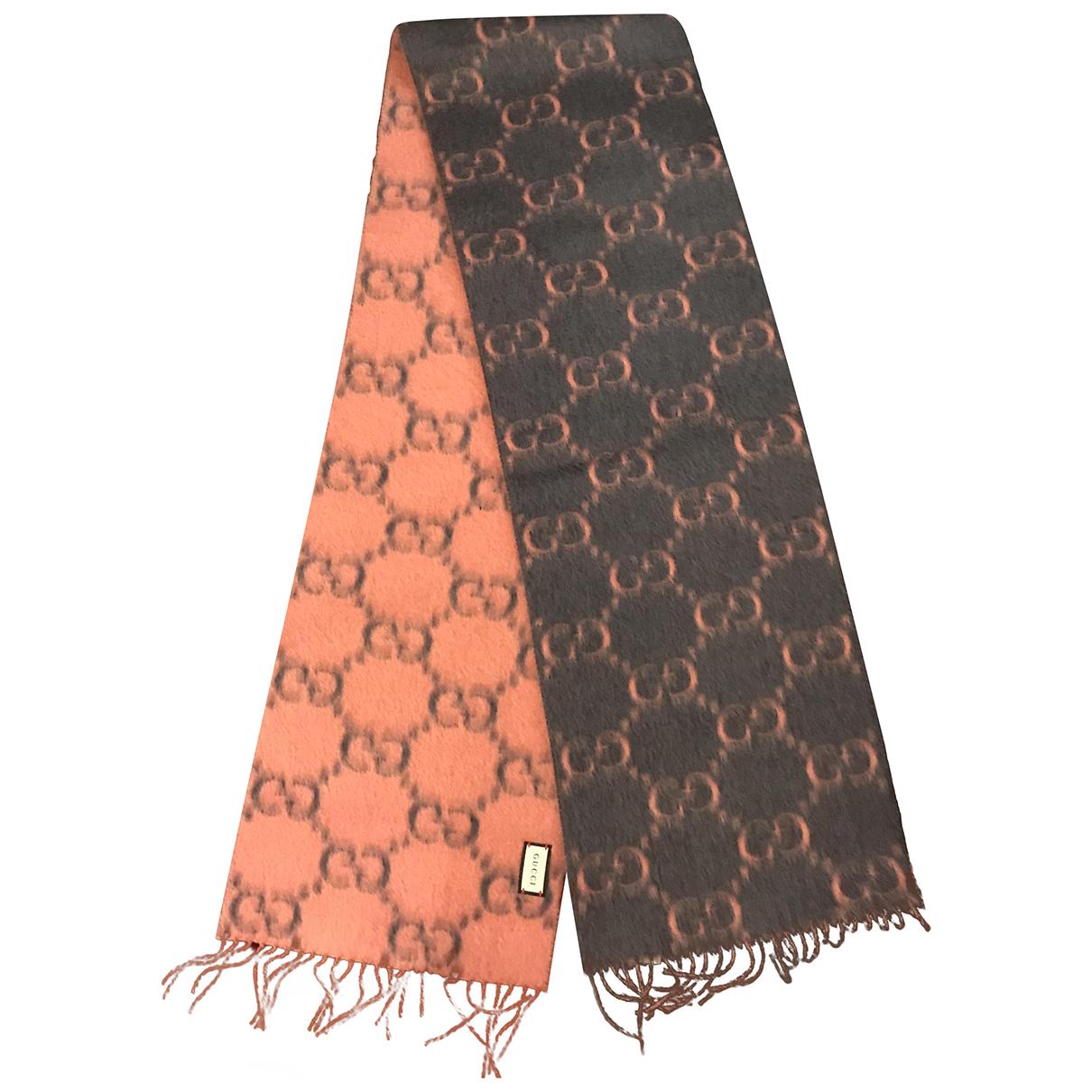 Gucci \N Multicolour Wool scarf for Women \N