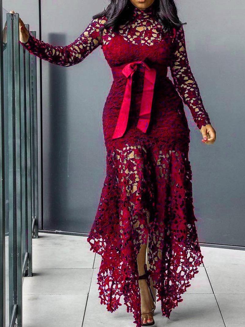 Ericdress Hollow Floor-Length Asymmetric Sexy Cheap Prom Dress