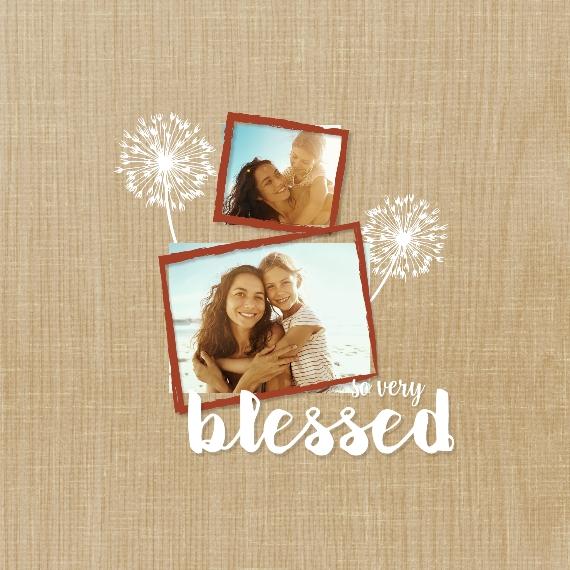 Family Pot Holder, Gift -So Blessed