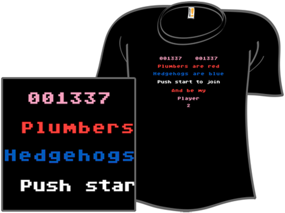 Player 2: A Love Story T Shirt