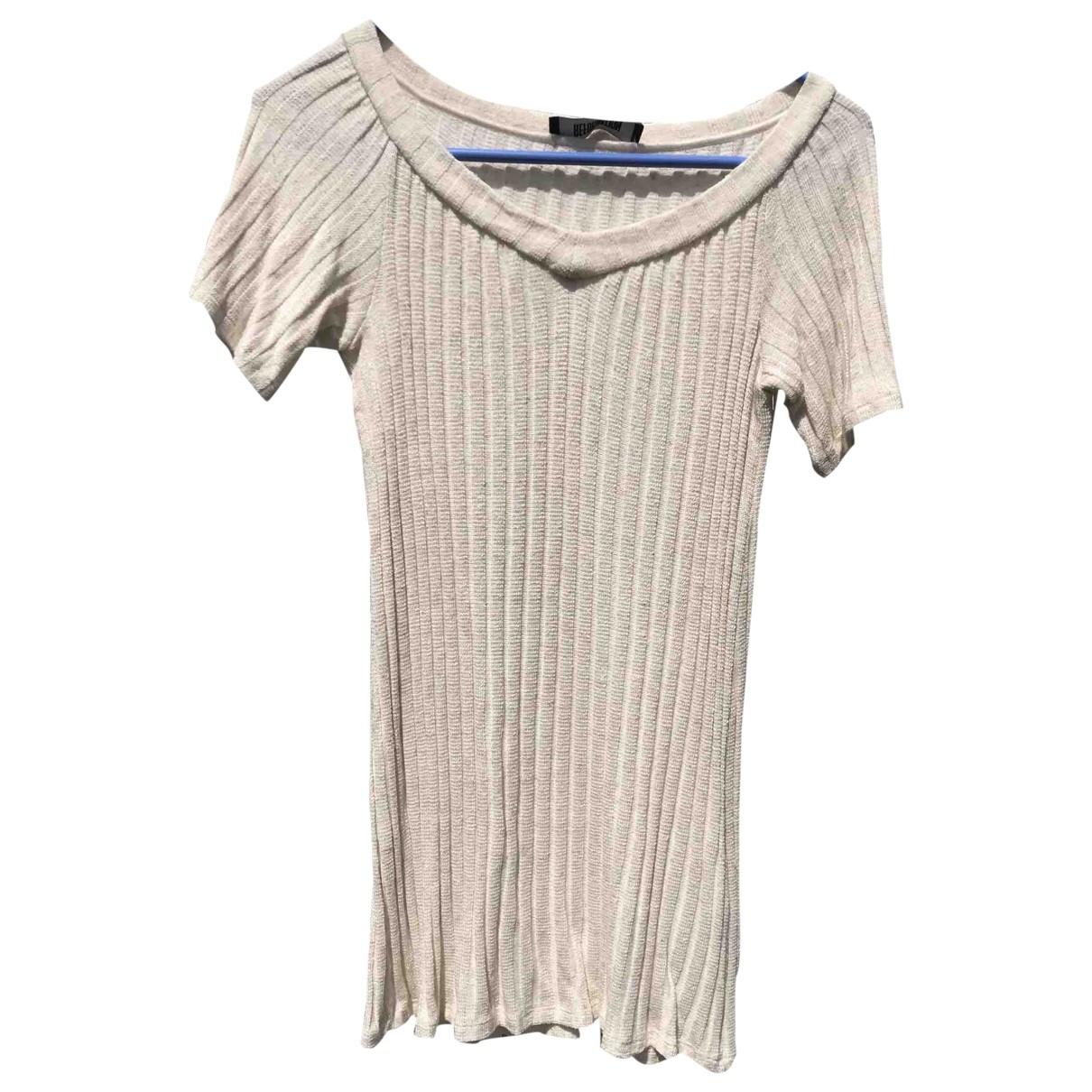 Reformation \N Beige dress for Women XS International