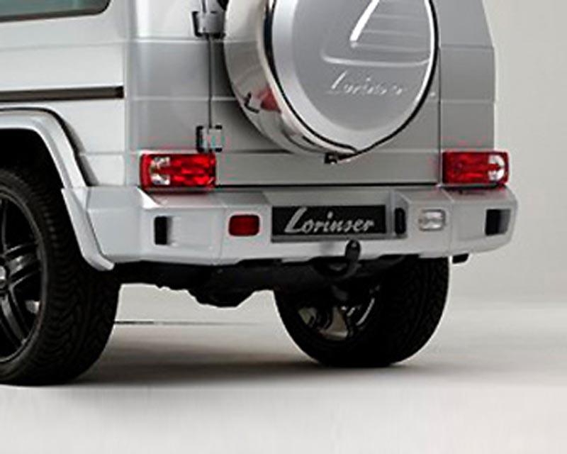 Lorinser 488 0463 33 Rear Bumper Cover Wide Version Mercedes-Benz G-Class w/Parktronic 10-12