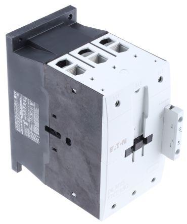 Eaton 3 Pole Contactor - 115 A, 190 → 240 V ac Coil, 3NO, 55 kW