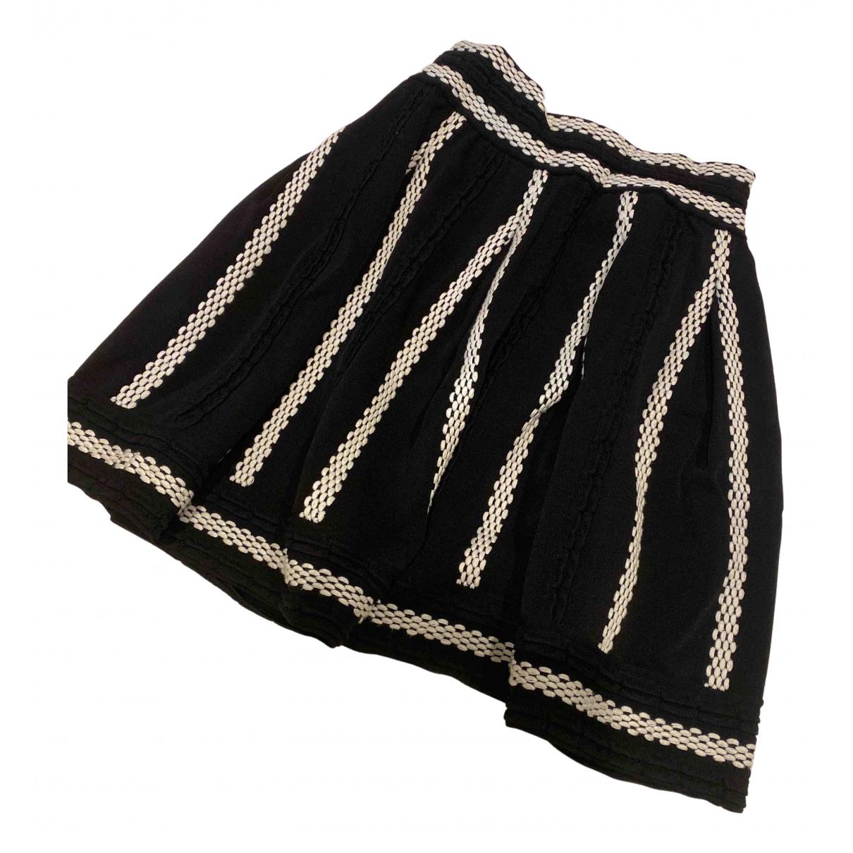 Maje N Black skirt for Women 3 0-5