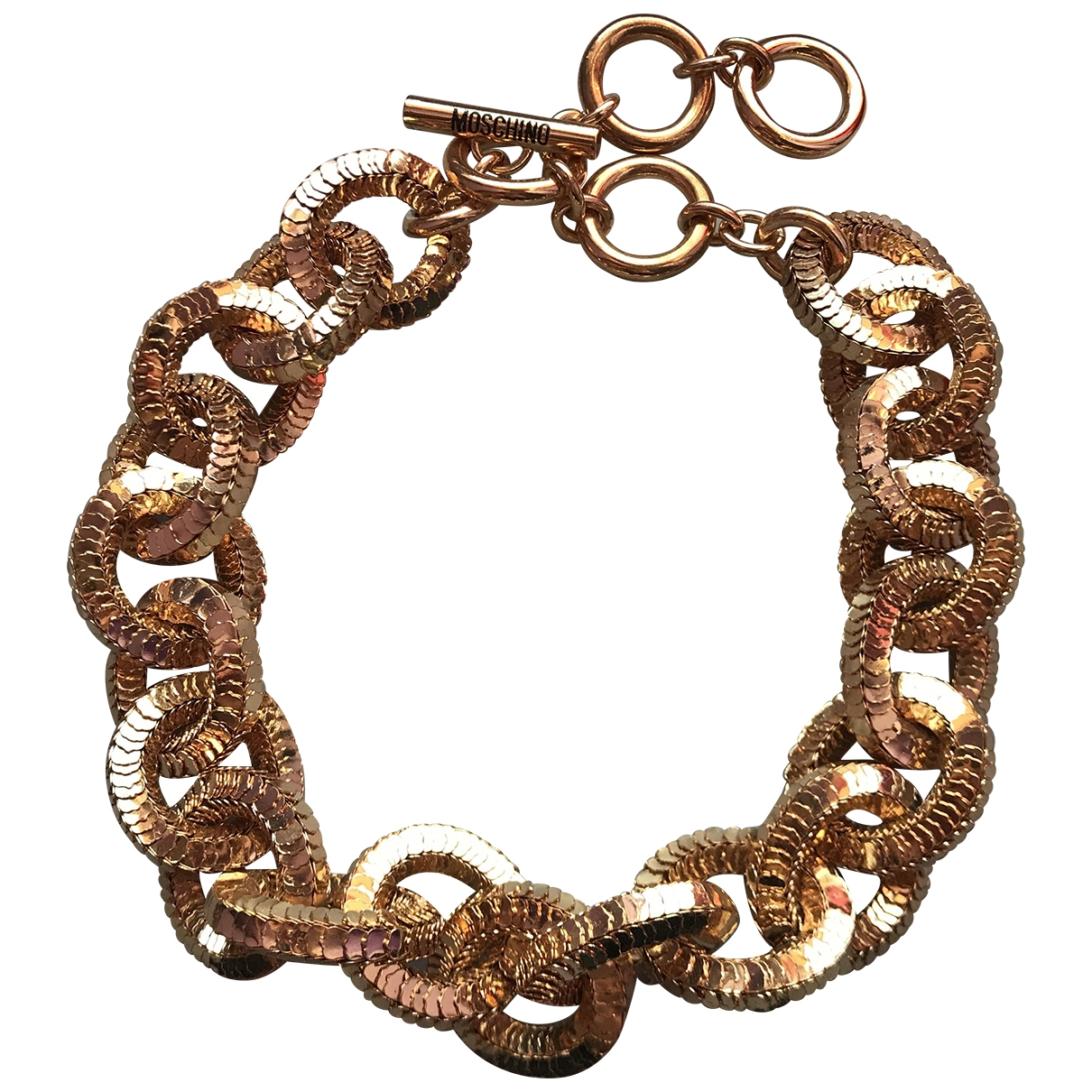 Moschino For H&m \N Gold Metal necklace for Women \N