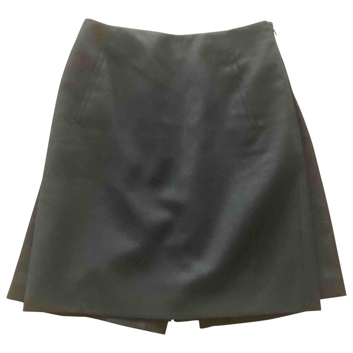 Hermes - Jupe   pour femme en laine - noir