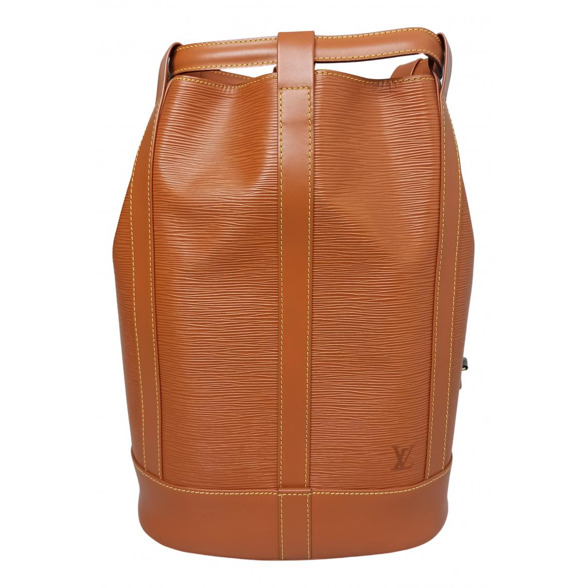 Louis Vuitton - Sac a dos Randonnee pour femme en cuir