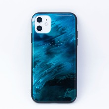 Wave Pattern Print iPhone Case