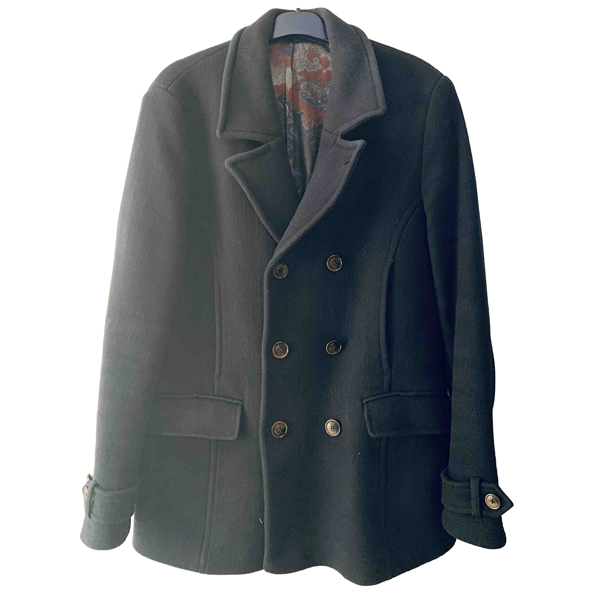 Ted Baker \N Blue Wool coat  for Men 4 0 - 6