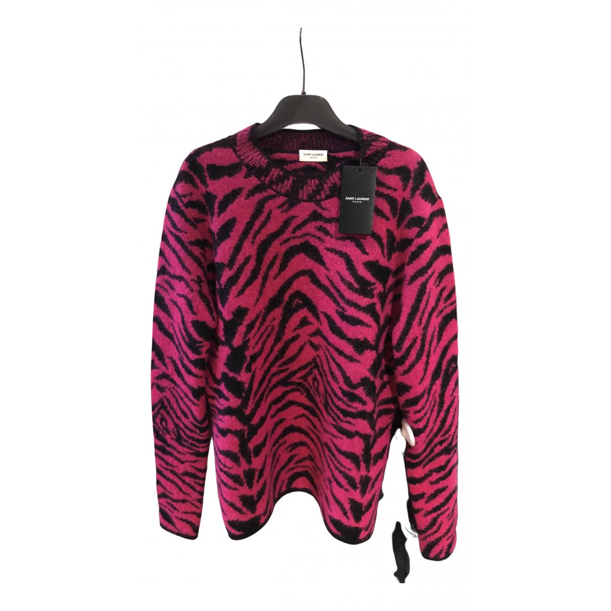 Saint Laurent \N Pink Wool Knitwear for Women M International