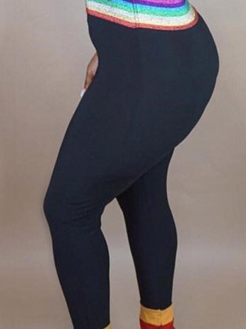 Ericdress Off Shoulder Casual Slim High Waist Jumpsuit