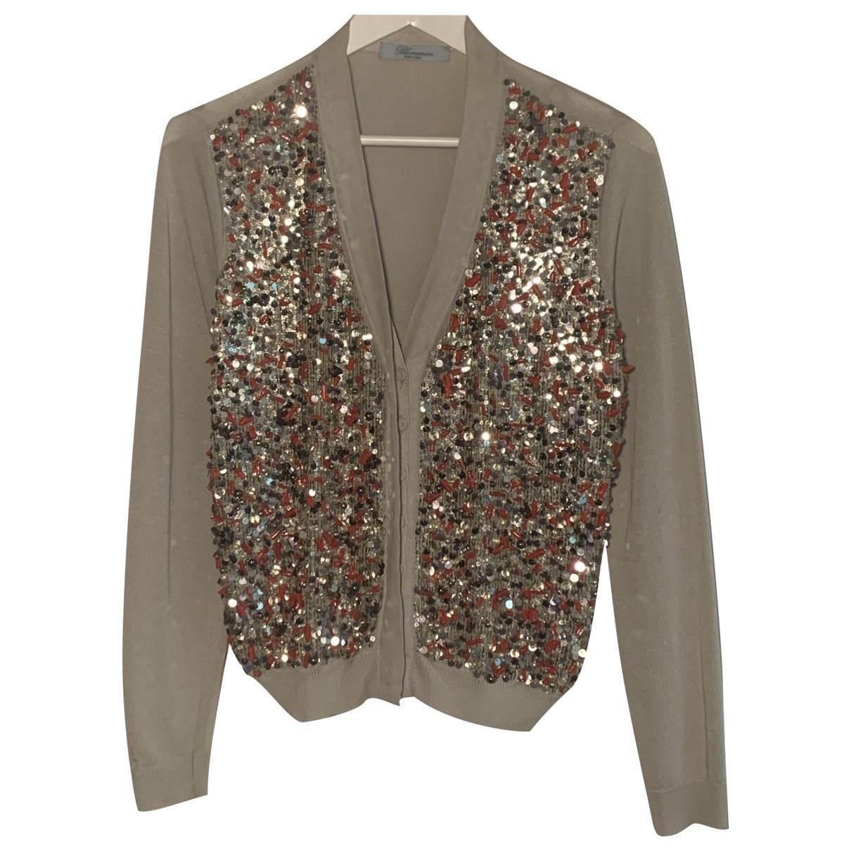 Blumarine \N Metallic Silk Knitwear for Women S International