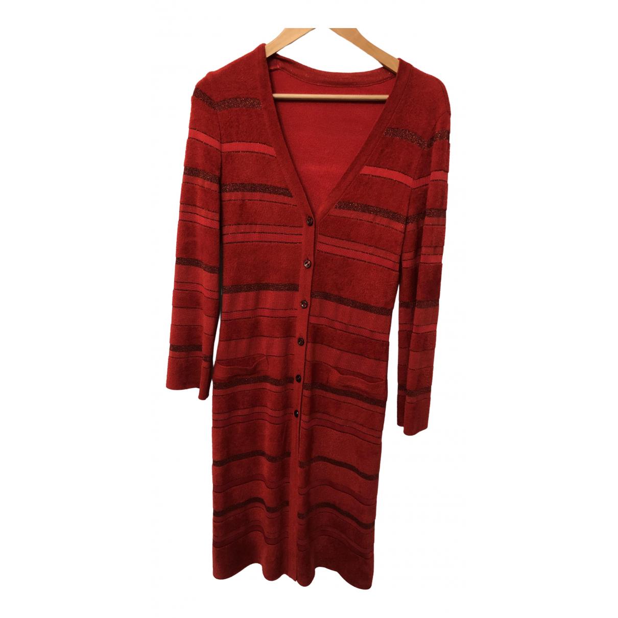 Escada - Veste   pour femme en cachemire - rouge