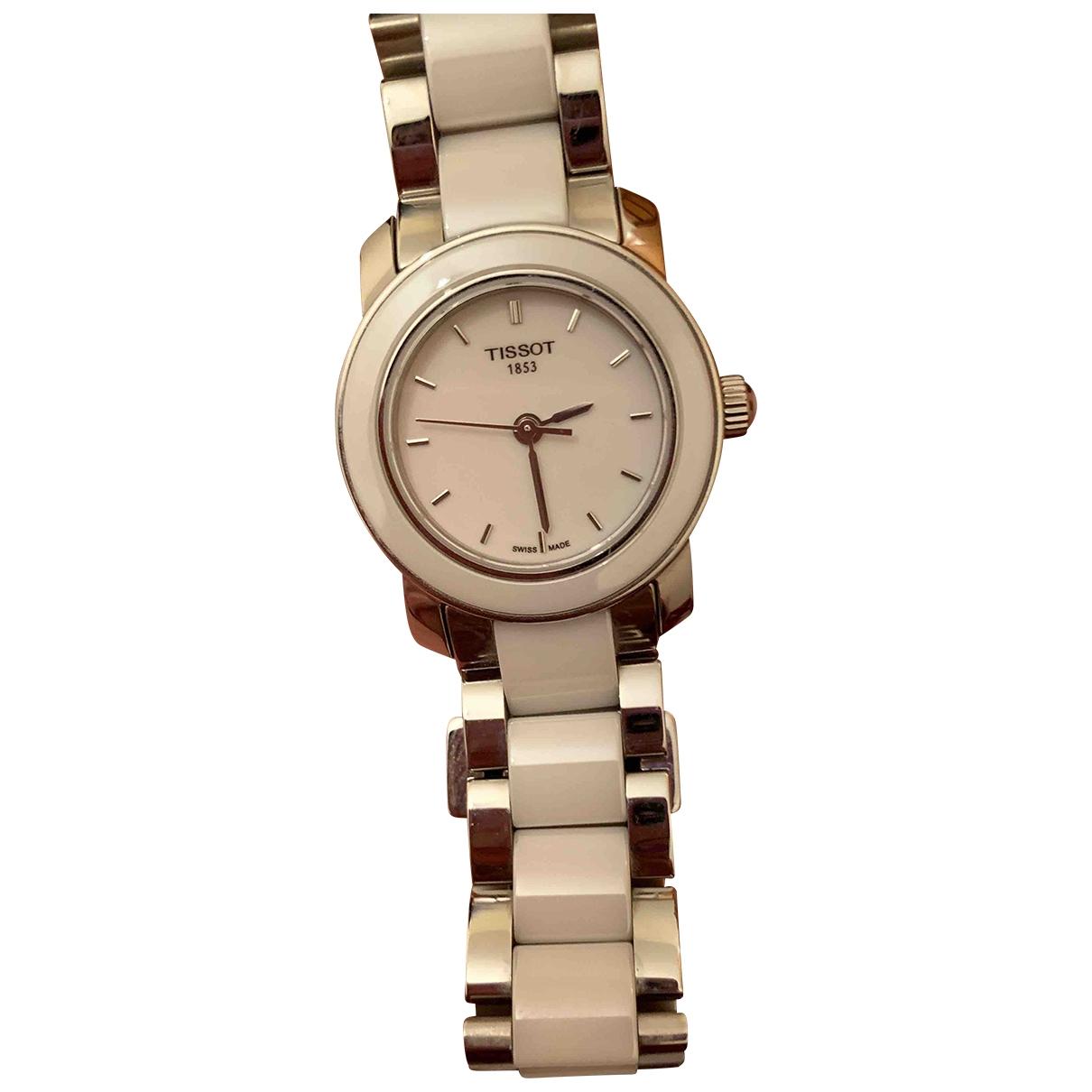 Tissot \N Uhr in  Weiss Keramik