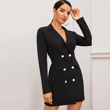 Kleid mit Zweireihig