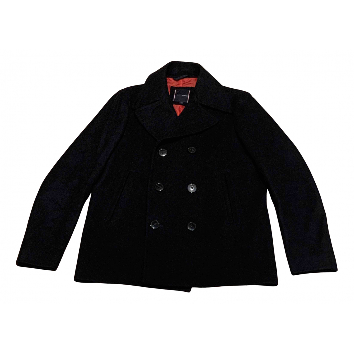 Tommy Hilfiger N Navy Wool coat  for Men S International
