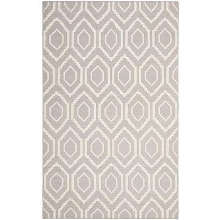 Safavieh Warner Hand Woven Flat Weave Area Rug, One Size , Gray