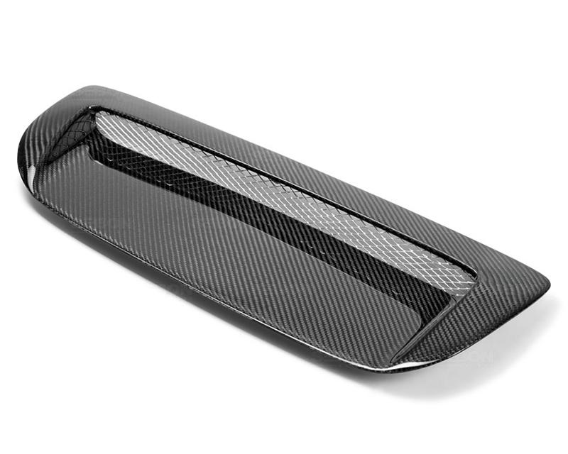 Seibon HDS1012MZ3-VSII Carbon Fiber VSII Style Hood Scoop Mazda Speed 3 10-12