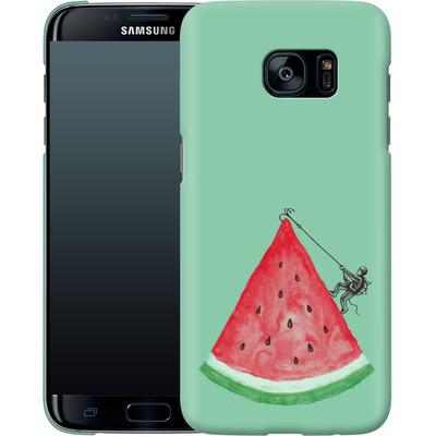 Samsung Galaxy S7 Edge Smartphone Huelle - Summer Climb von Enkel Dika
